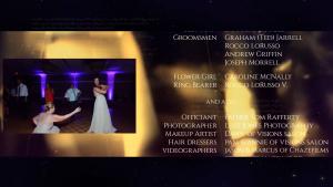 Wedding End Credits